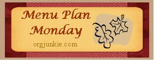 mpmfall Menu Plan Monday   October 27