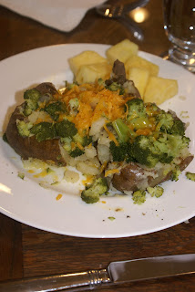 Broccoli Topped Potatoes