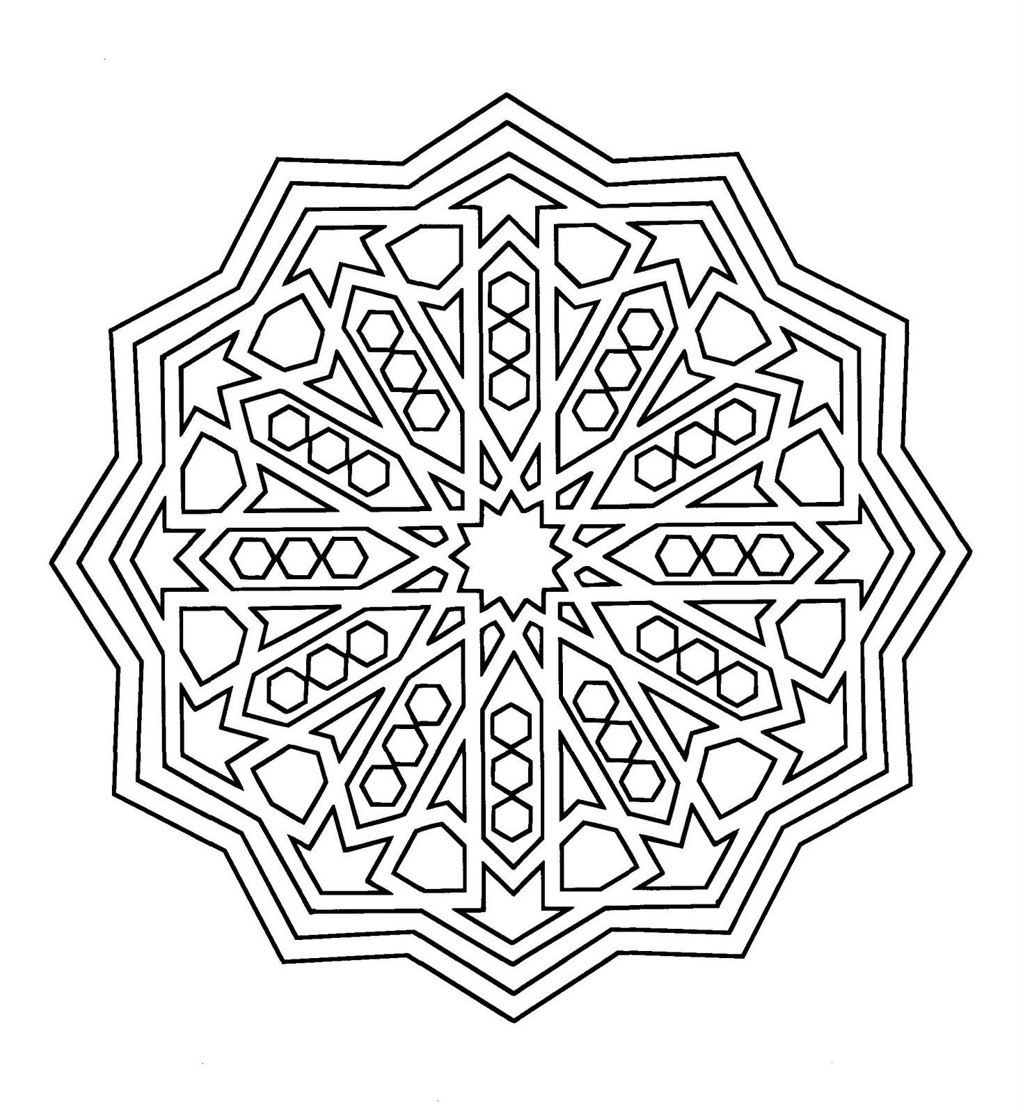 Mandalas Para Dibujar