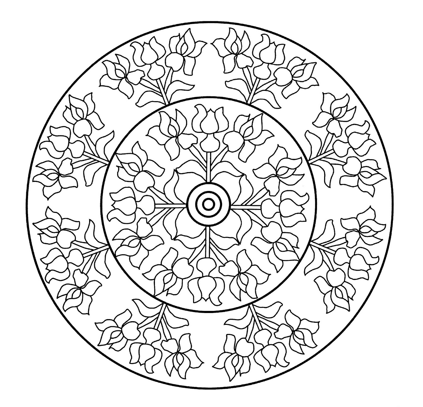 Mandalas Para Pintar: Vidriera de la Casa Berenguer