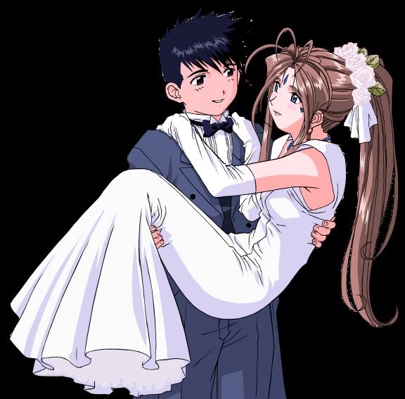 msstrawberri ah my goddess wedding