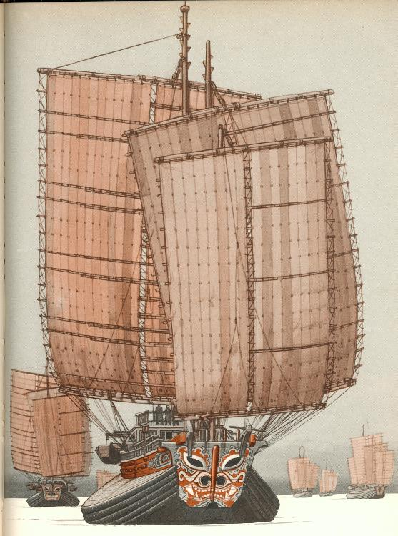 Chinese junk of war