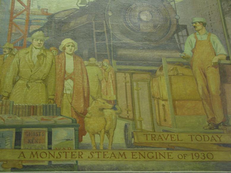 monster steam engine 1930