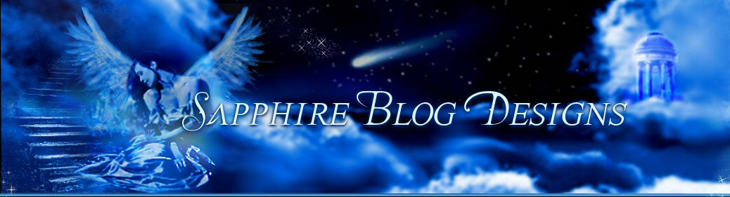 Sapphire Blog Design