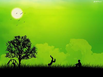 verde oameni danseaza