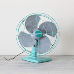 I collect fans! Vintage ones that is!
