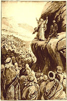 Moses Blesses the Tribes