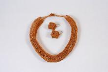Collar egipcio de cobre