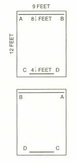 Diagram for bookcase problem