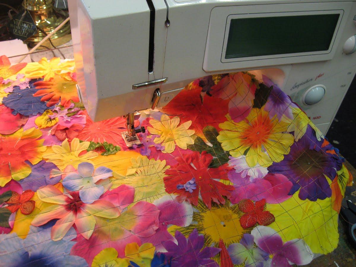 Платье из цветов своими руками мастер класс