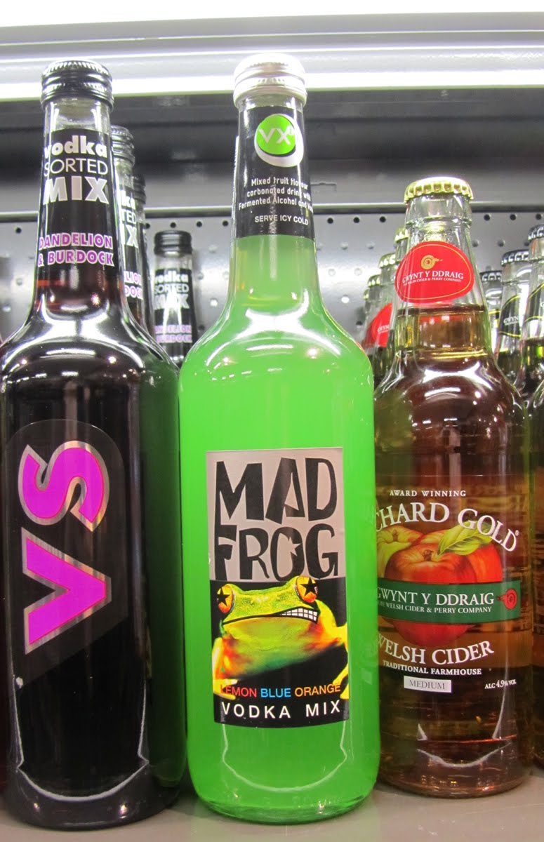 Mad Frog Alcoholic Drink