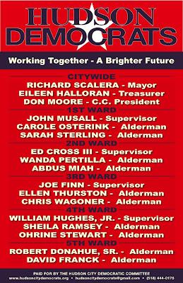 hudson city democrats hudson democrats release city wide campaign