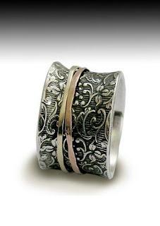 Tibetan Prayer Ring Spin