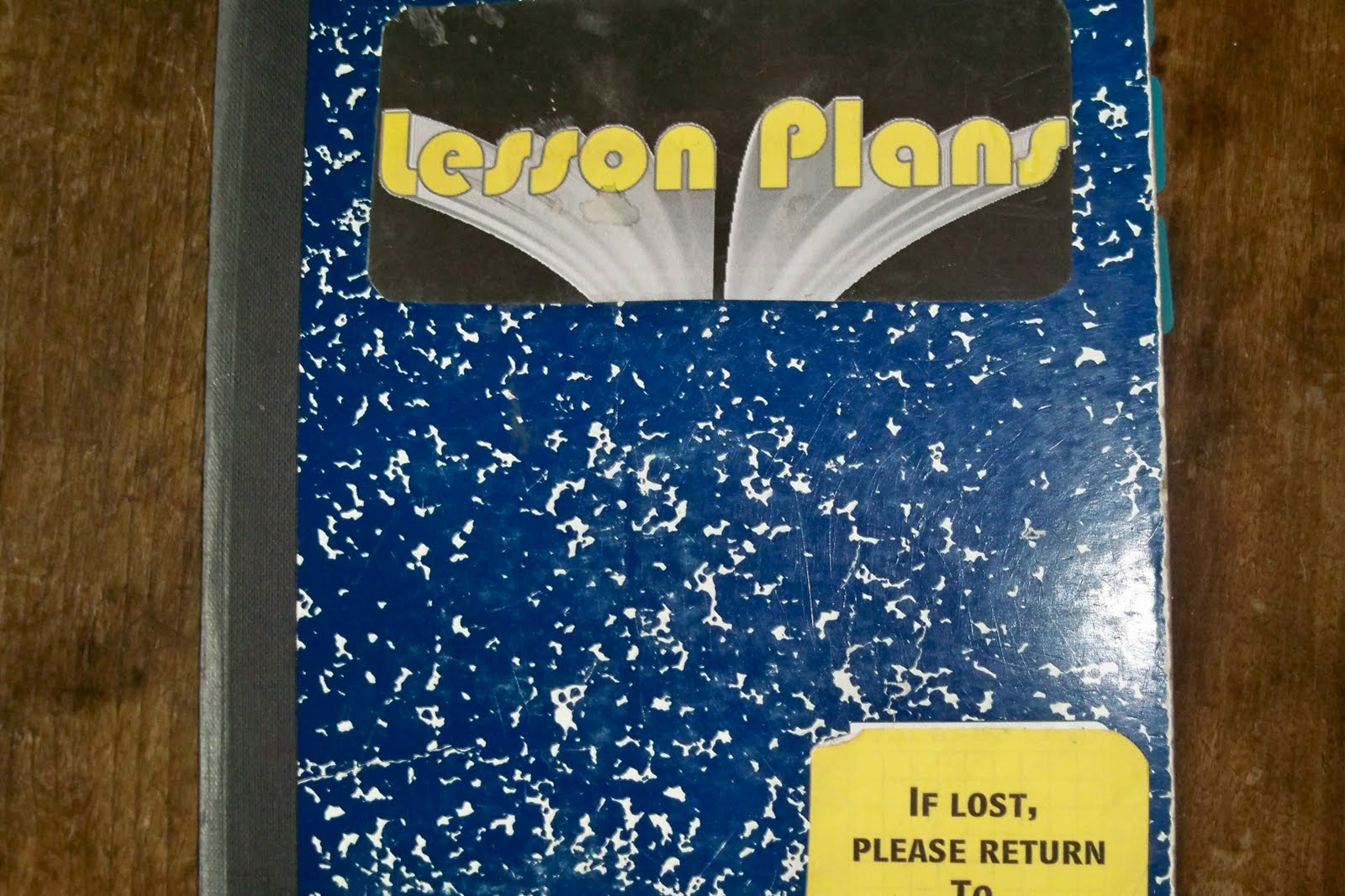homeskulin  lesson plan book