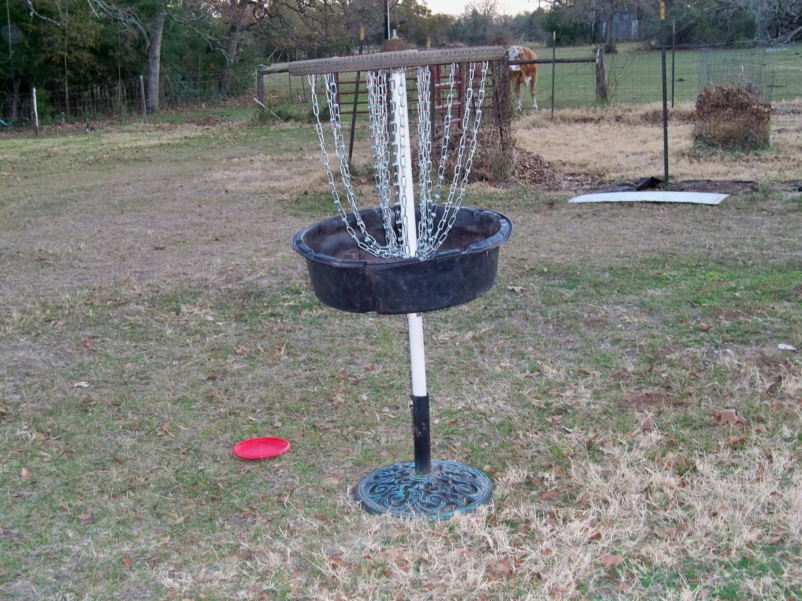 Homeskulin Homemade Disc Golf Basket