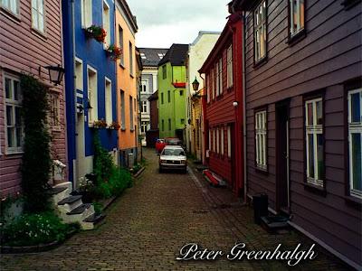 Bergen Norway picture Olympus Om1