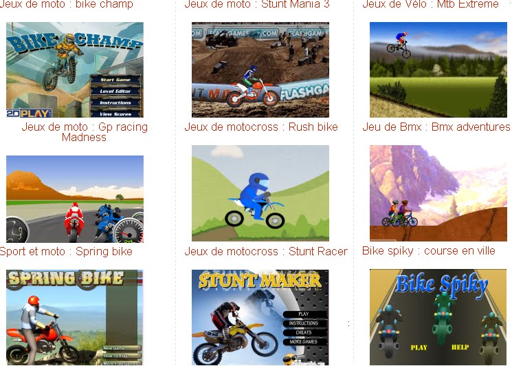 pin jeux de moto gratuits en ligne on pinterest. Black Bedroom Furniture Sets. Home Design Ideas