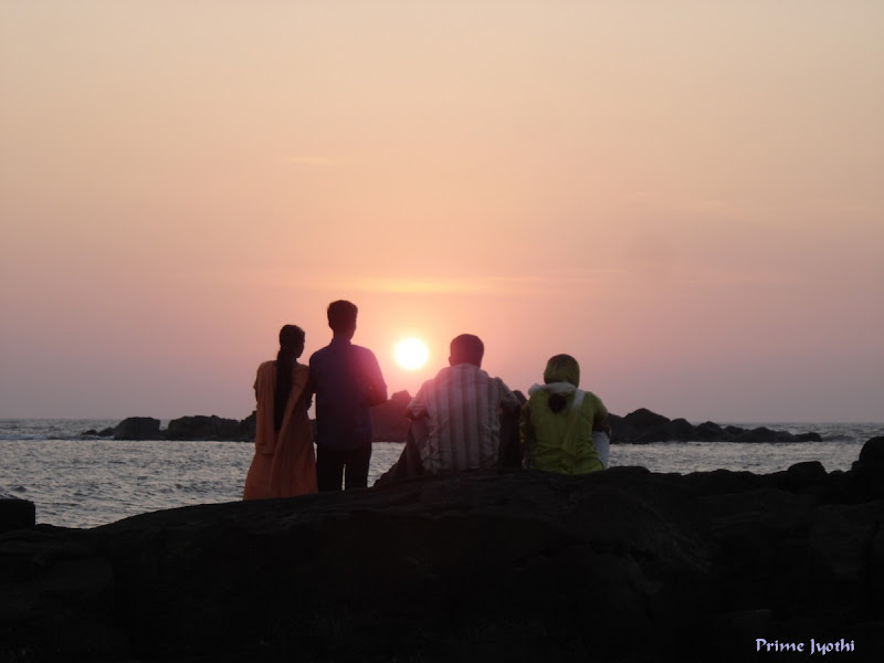 Sunset at Muzhappilangad beach
