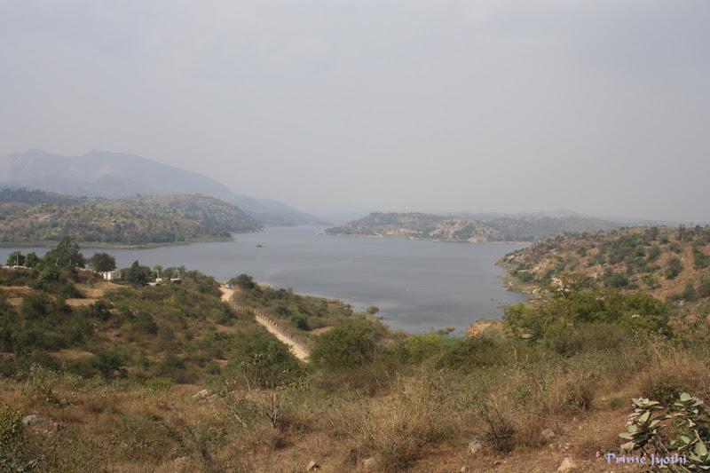 Manchanbele dam reservoir