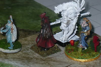 Arianna, Dorian, Rakan e Rubi