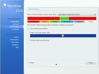 Mandriva Linux 2010 Spring - DVD 2010_partition