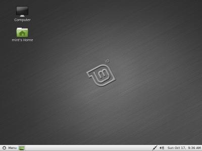 Linux Mint 10 Julia RC Julia