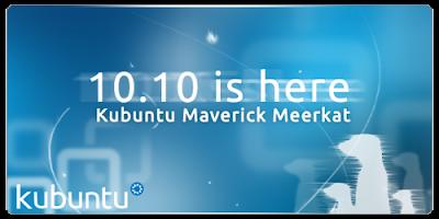 Kubuntu 10.10 Maverick Meerkat Kubuntu-10.10-banner