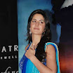 Bollywood actress katrina Kaif looking sexy in blue saree and sleeveless blouse