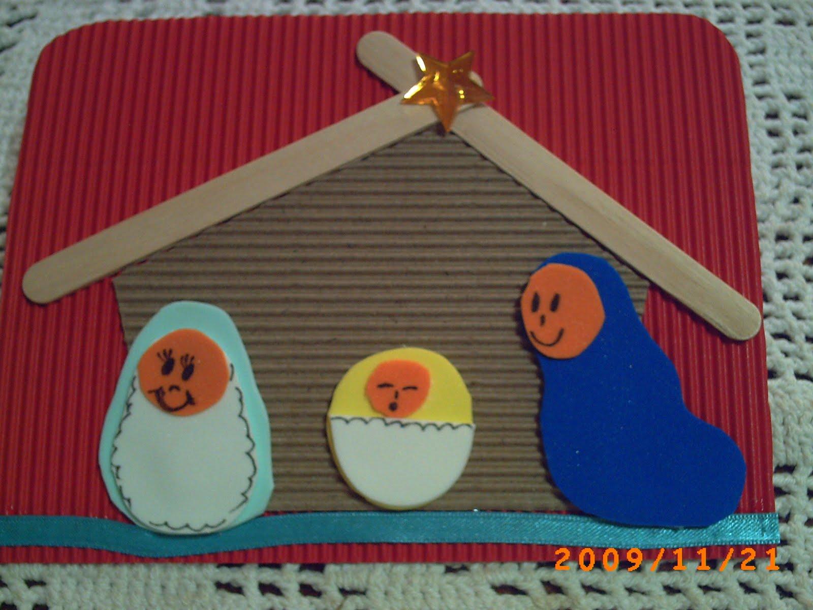 Manualidades variadas tarjetas navide as - Manualidades tarjeta navidena ...