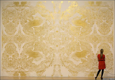Wright's Gold Leaf Fresco