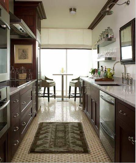 Espresso Kitchen Cabinets With White Appliances Weird