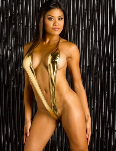 Gold Digger Sideless G-Suit: wicked-temptations-bikinis.blogspot.com