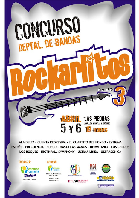 Afiche Rockarlitos III