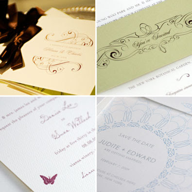 Our favorite design elements for 2010 Invitations