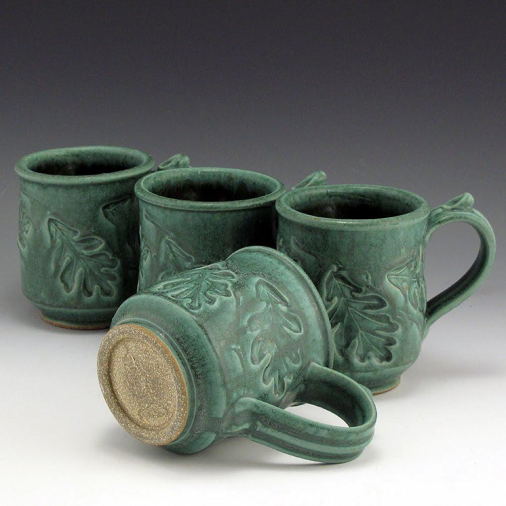 Creative clay mugs the image kid has it for Clay mug ideas