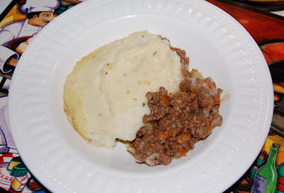 Serving of Cumberland Pie