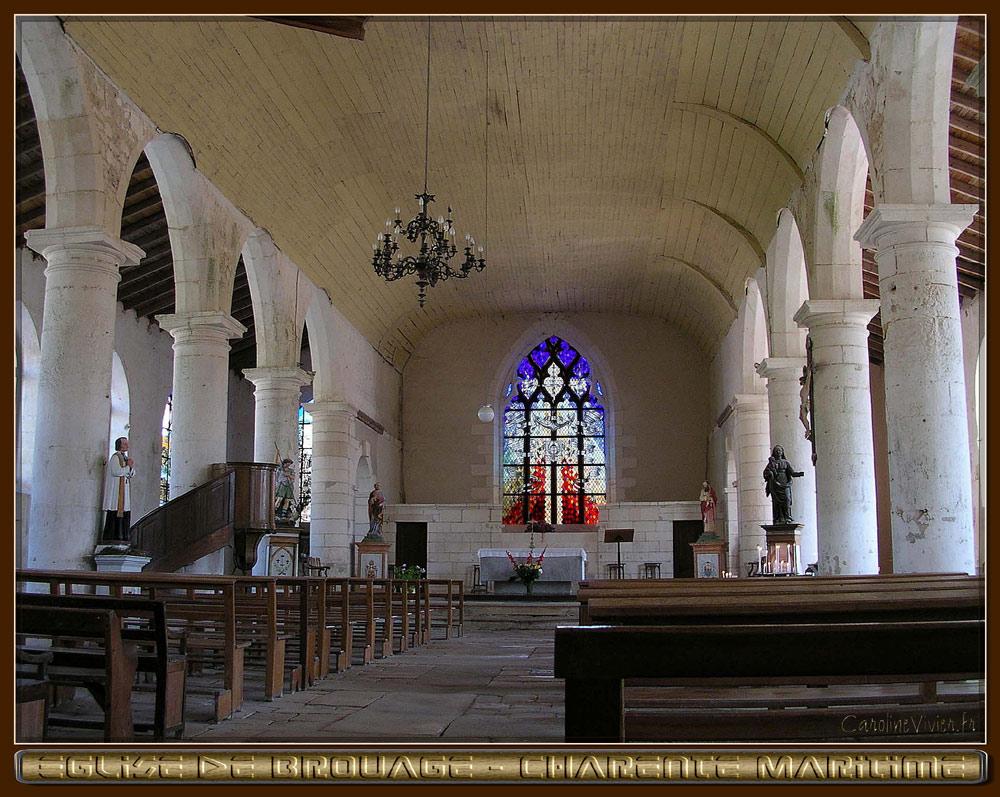 Eglise de Brouage Intérieur