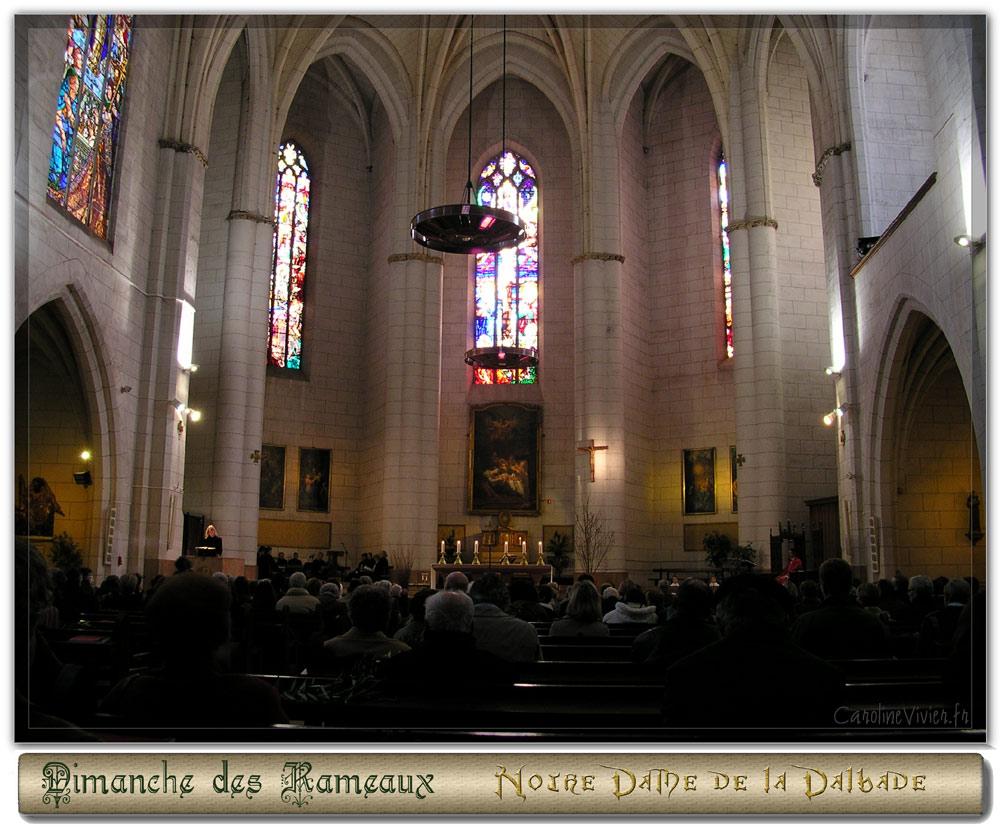 Messe à Notre Dame de la Dalbade