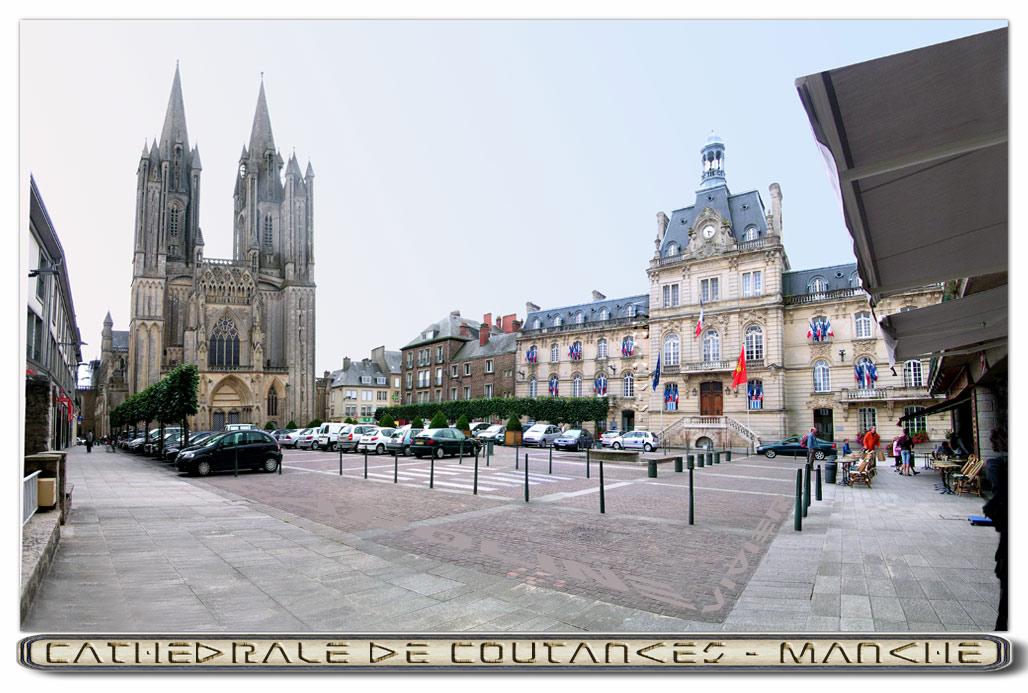 Coutances - Cathédrale Notre Dame de Coutances