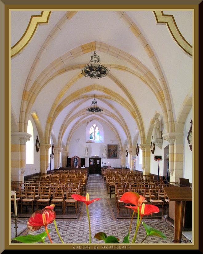 Eglise Le Mesnilbus - Intérieur