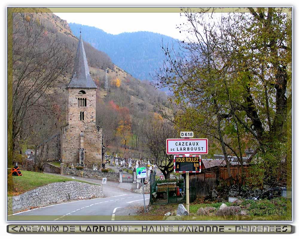 Eglise de Cazeaux de Larboust