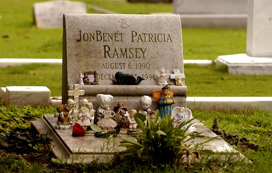 """In memory of: Jonbenet Ramsey August 6,1990-December 25,1996."""
