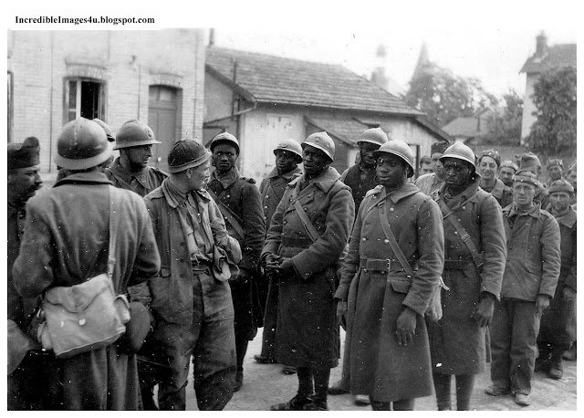 French North African troops