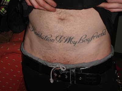 Revolution Is My Boyfriend Tattoo A Slogan From My Movie The Raspberry