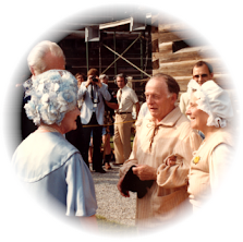 My Dad Meeting the Queen Mother