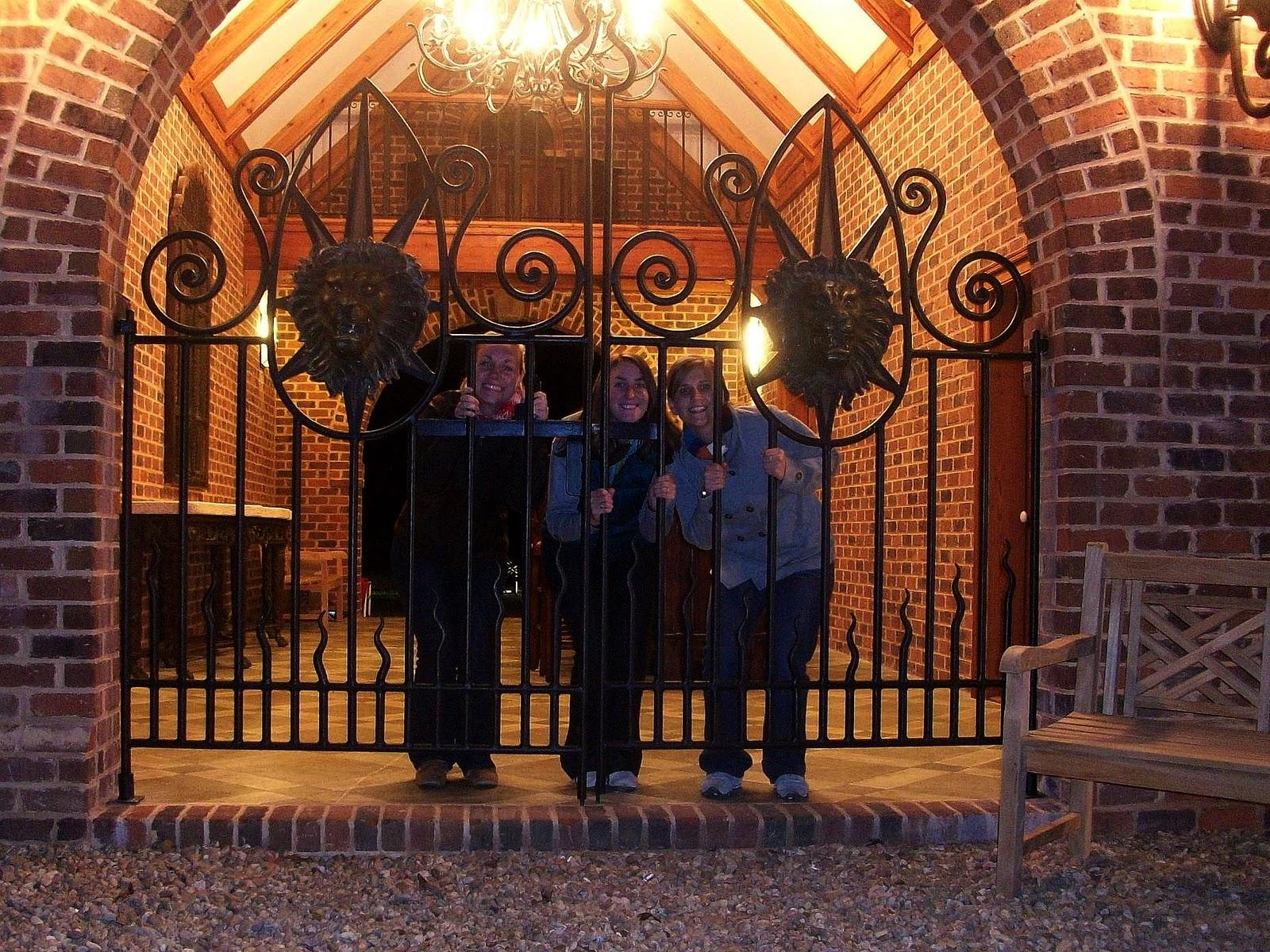 scary iron gates