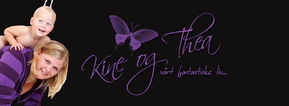 Kine og Thea sin blogg