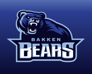 Black bear sports logo - photo#27