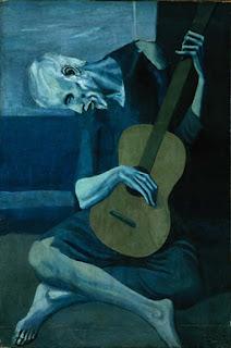 Viejo guitarrista - Pablo R. Picasso