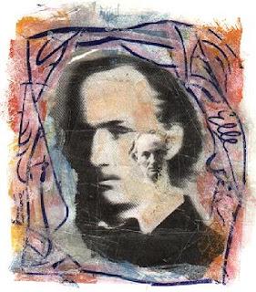 Baudelaire - Collage de Frédéric Vignale